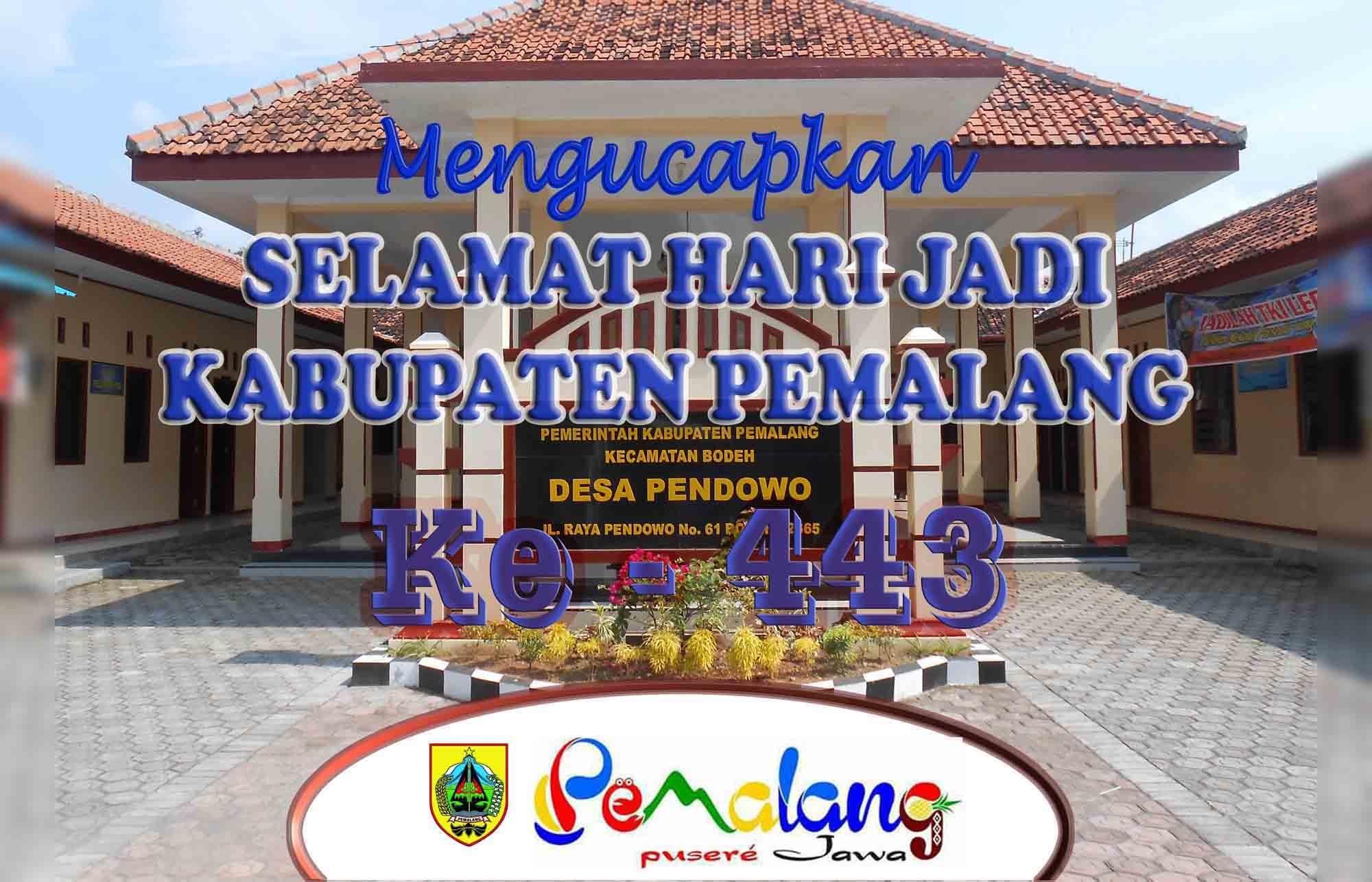 SELAMAT HARI JADI PEMALANG KE-443